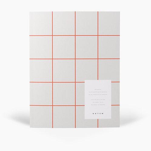 UMA Notebook, Hellgrau