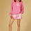Thumbnail: 10days Oversize Hoodie Candy Pink