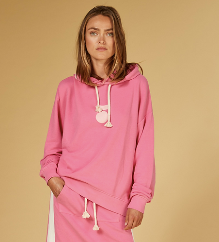 10days Oversize Hoodie Candy Pink