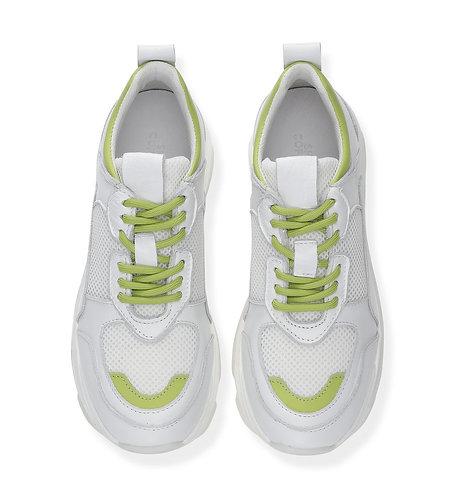 """Shoe Biz Copenhagen Sneaker """"Lime"""""""