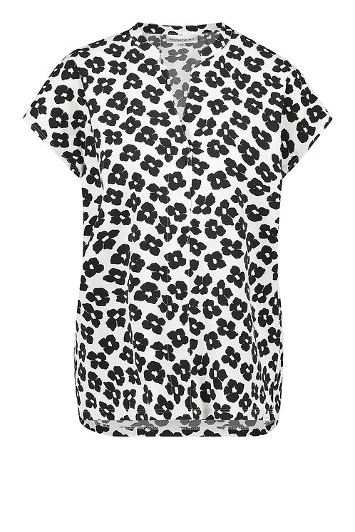 Penn & Ink Top Aop, Flower Print