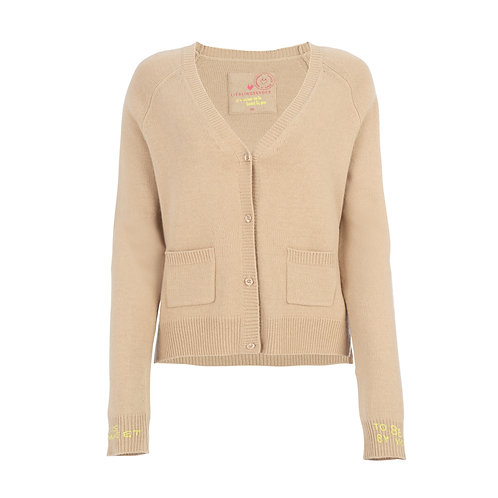 Strickjacke 'Suma', Tan