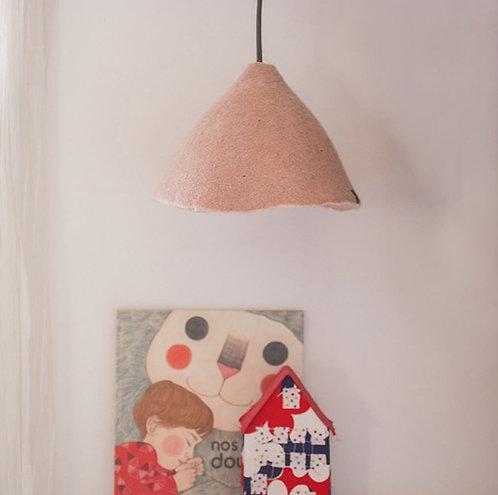 Wendbarer Lampenschirm, Rose Quartz