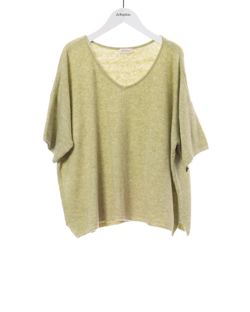 Carnation Sweater, Fresh Green
