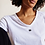 Thumbnail: 10Days The V-Neck Tee  Weiss
