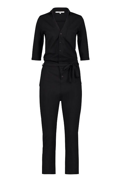 Penn & Ink. Jumpsuit (S21T579) Black