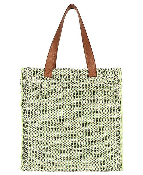 Zanba Shopper Bag, Yellow