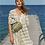 Thumbnail: Rahma Kleid mit Streifenmuster