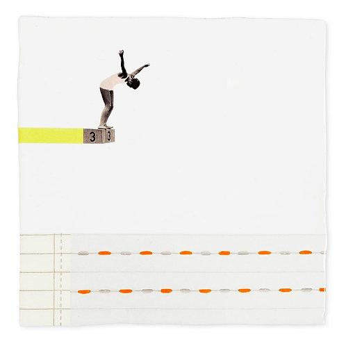 Storytiles 'A Leap of Faith' Kachel 10x10