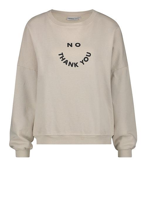 Sweatshirt 'Rainy Day', Asphalt