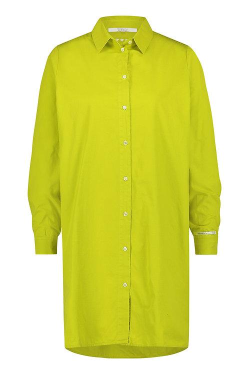 Penn & Ink Langes Hemd 'Green Banana'
