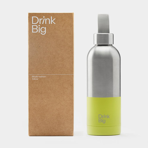 Drink Big Flasche Bicolor edition Yellow