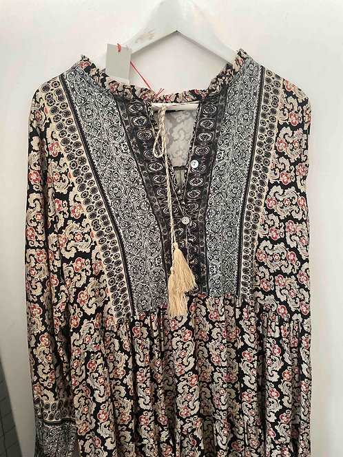 Heart Kiss Kleid Boho Chic
