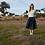 Thumbnail: JC Sophie Gaura Skirt Midnight Blue