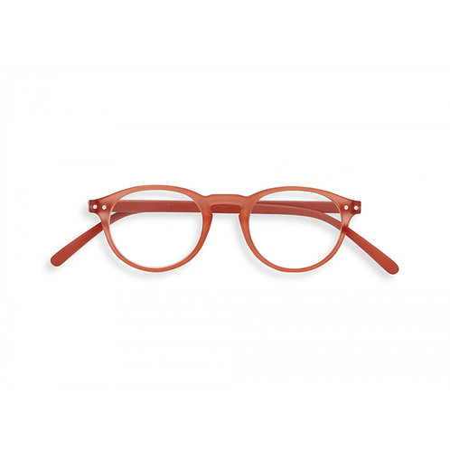 Lesebrille #A, Warm Orange
