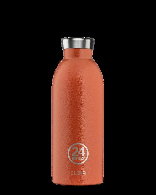"""Clima Bottle """"Sunset Orange"""""""