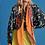 "Thumbnail: Pom Amsterdam Schal ""Dancing Boots Orange"""