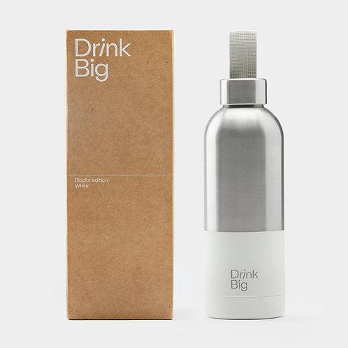 Drink Big Flasche Bicolor edition White