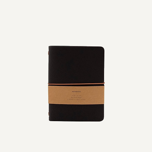 """Notebook vegan leather """"To remember"""""""