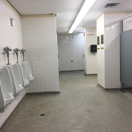Aberdeen Pavillion Bathroom - Landsdowne Park, Ottawa