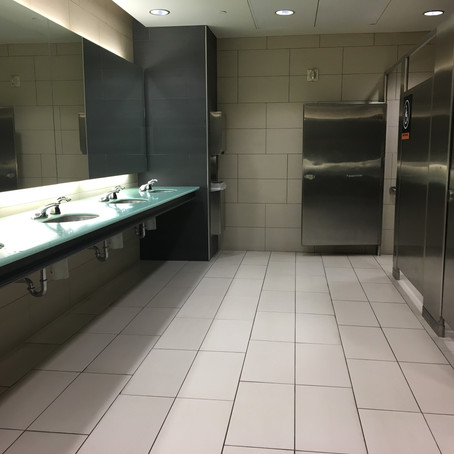 Ottawa Macdonald-Cartier Int Airport Bathroom