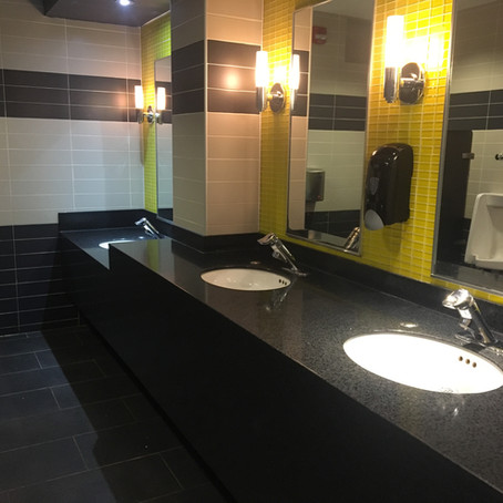 Cineplex Cinemas Lansdowne Bathroom -  Landsdowne, Ottawa