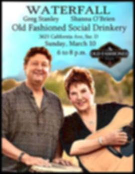 Waterfal  flyer for Social Drinkery copy
