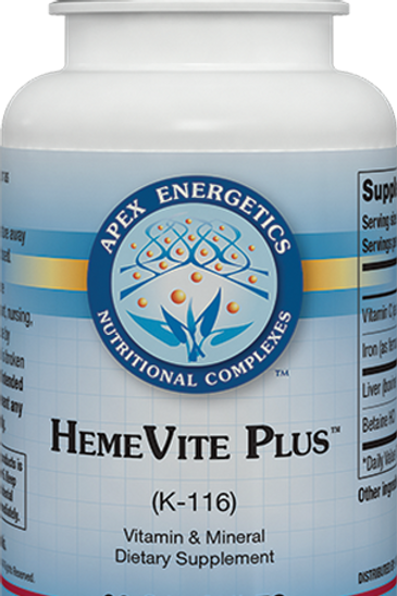Apex Energetics HemeVite Plus k-116 90 caps