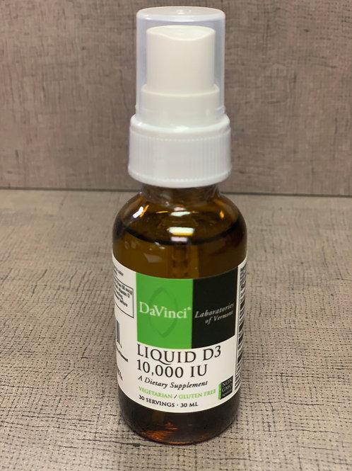 DaVinci Liquid D3 10,000 IU 30 servings / 30 mL