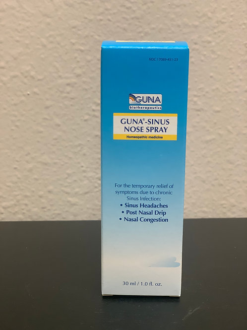 GUNA-SINUS NOSE SPRAY 1OZ