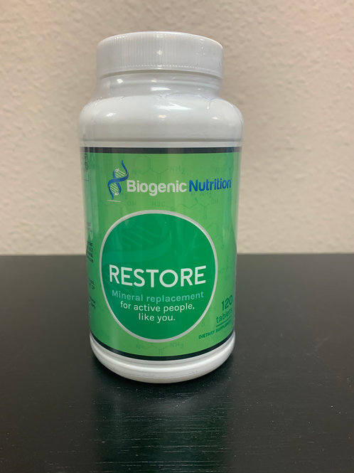 BIOGENIC NUTRITION RESTORE 120 TABLETS