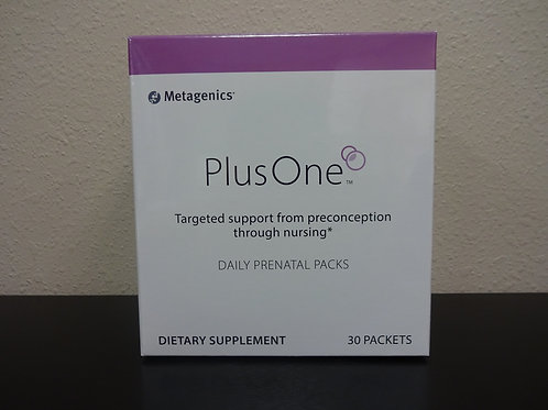 PLUS ONE DAILY PRENATAL PACKS 30 PACKS