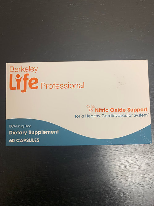BERKELEY LIFE PROFESSIONALS NITRIC OXIDE SUPPORT 60 CAPS