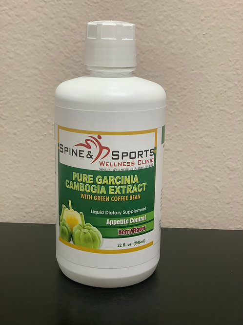SPINE AND SPORTS WELLNESS PURE GARCINIA 32OZ