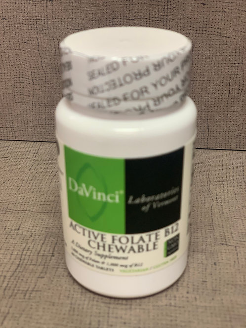 Davinci Active FolateB12 Chewable 60 chewable tablets