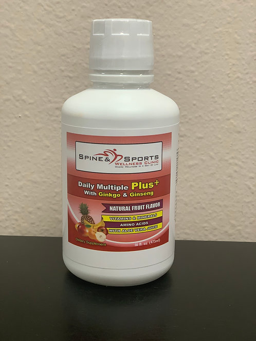 SPINE AND SPORTS WELLNESS DAILY MULTIPLE PLUS 16OZ