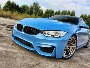 BMW M4 Xpel Paint Protection