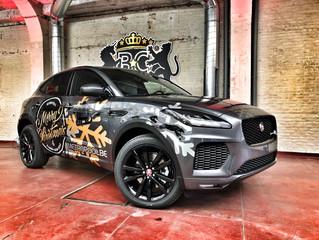 Jaguar E-Pace - Metropool Christmas Wrap