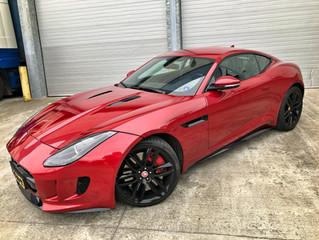 Jaguar F-Type BCS Hydro Paint Protection