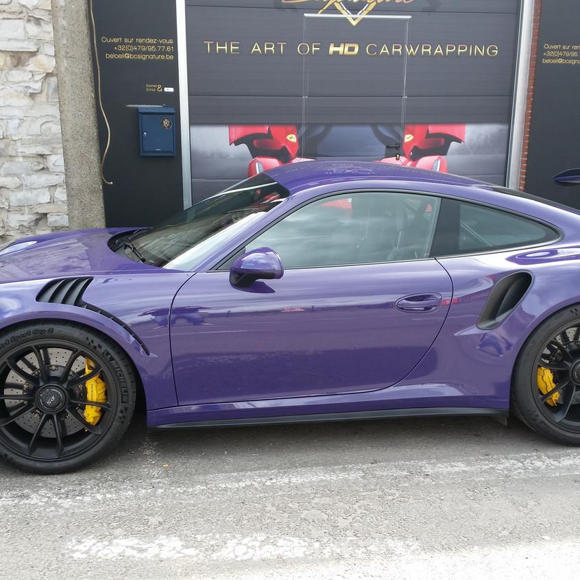 Porsche GT3 RS Paint Protection