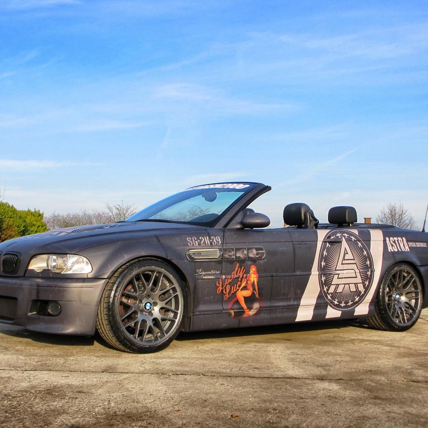 BMW M3 Streetgasm Carwrap
