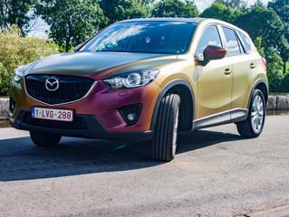 Mazda CX-5 Rising Sun Carwrap