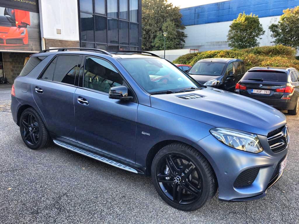 MercedesML Colorchange carwrap