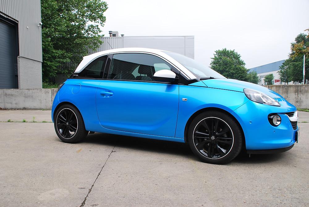 Opel Adam Bahama Blue Carwrap