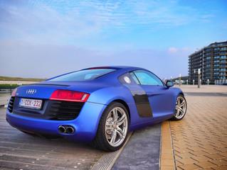 Audi R8 - Matte Brilliant Blue Wrap