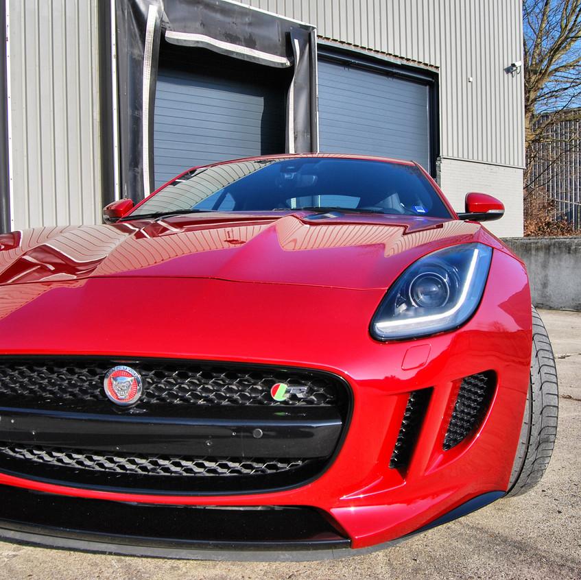 Jaguar F-type S BCS Hydro PPF wrap
