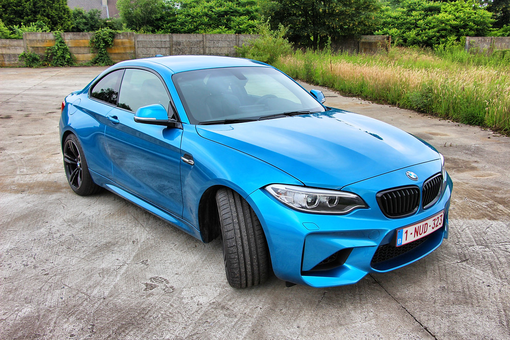 BMW M2 Paint Protection Carwrap