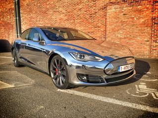 Tesla Model Bling - Chrome wrap