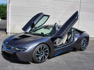 BMW i8 - Satin Dark Grey Carwrap