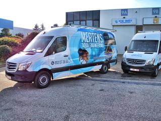 Mertens Aqua Engineering - Sprinter wrap